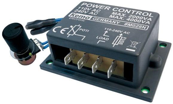 Kemo Power Control 110 - 240 V/AC, 4000 VA