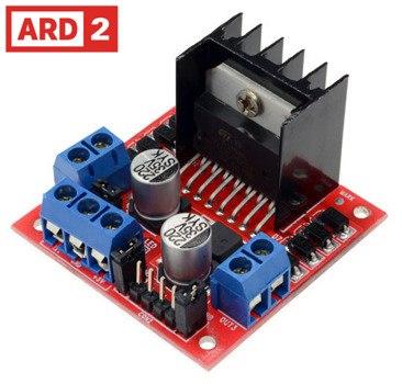 New Dual L298N H Bridge Stepper Motor Driver Controller Board Arduino Pi