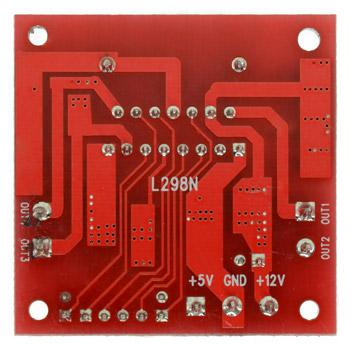 L298N Dual H Bridge Stepper Motor Controller Module Arduino & Raspberry Pi