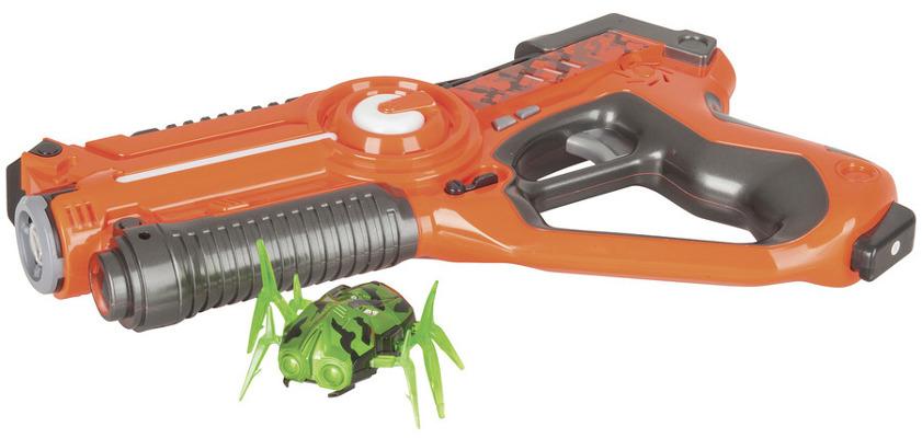 Laser Gun with Robotic Alien Bug