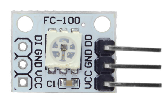 WS2812 Neopixel x 1 LED Light Module Arduino Compatible