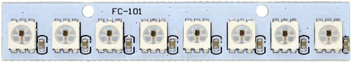WS2812 Neopixel Digital x 8 LED Light Module for Raspberry Pi, Arduino etc