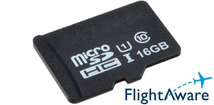 microSD Card 16GB Class 10 with PiAware for Raspberry Pi