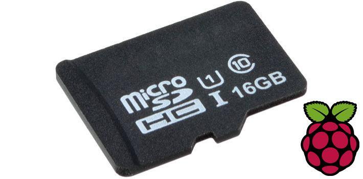 microSD Card 16GB Class 10 with Raspbian for Raspberry Pi