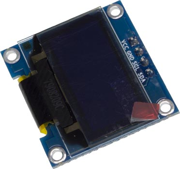 0 96 Inch 128x64 I2C Blue OLED Display Module Arduino Compatible