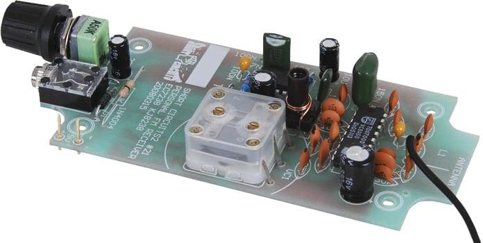 A Personal FM Radio Kit Assembled