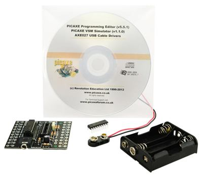 PICAXE 18M2 Starter Pack (CHI030) - No Cable