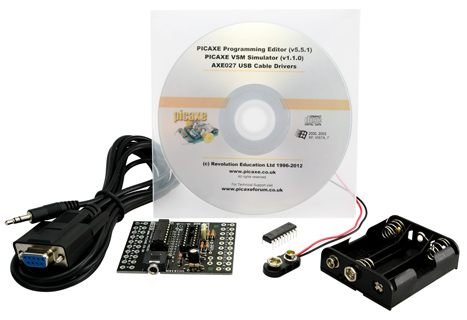 PICAXE 18M2 Starter Pack - Serial Cable