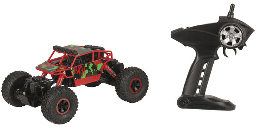 Photo of a remote control off-road 4 wheel drive buggy with remote control.
