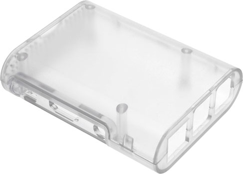 Raspberry Pi 3 Model B Case - Clear