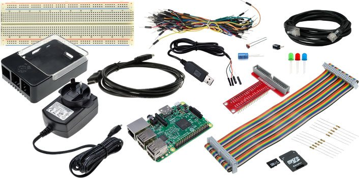 GPIO Starter Pack with Raspberry Pi 3