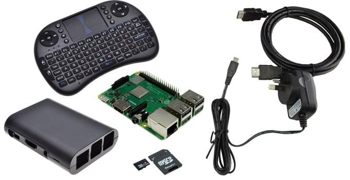 Raspberry Pi 3 Model B+ KODI Media Bundle