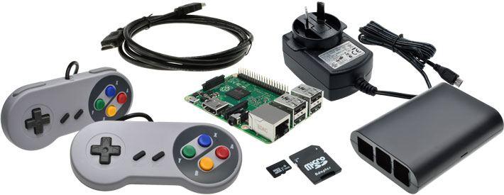 Raspberry Pi 3 Model B Retro Games Bundle