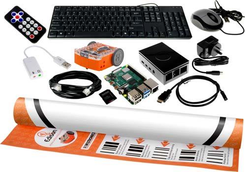 Raspberry Pi 4 Model B Ultimate Edison Robot Bundle - 1 GB