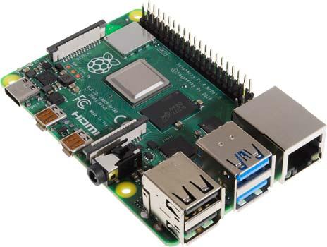 Raspberry Pi 4 Model B - Front