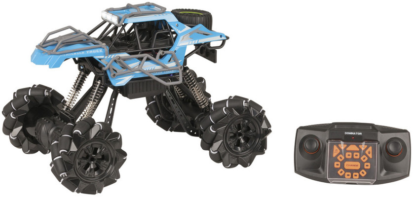 RC Rock Crawler with Sideways Drift - Blue