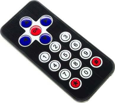 Photo of a remote control for Edison v2.