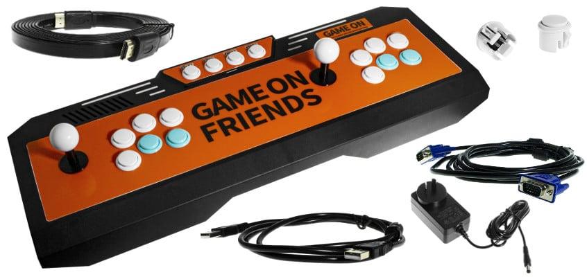 Retro Arcade Gaming Console