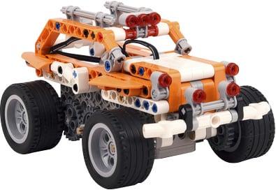 Photo of a STEM programmable Apitor SuperBot robot kit.