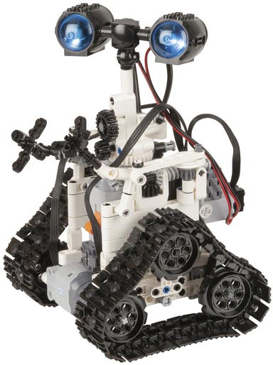 Photo of a remote controlled robot construction kit.