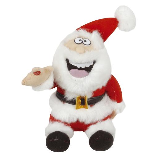 Photo of a novelty farting Santa Claus.