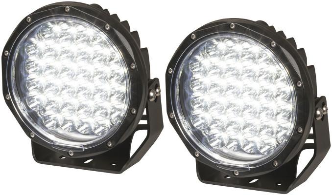 7 Inch LED Driving Light - Pair, 6000 Lumen