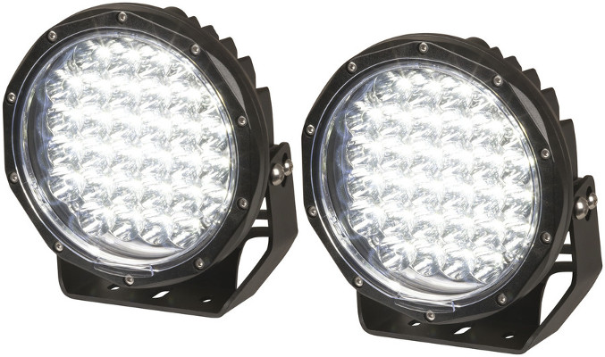 9 Inch LED Driving Light – Pair, 7900 Lumen