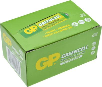 AAA Batteries 40 Pack Extra Heavy Duty Greencell