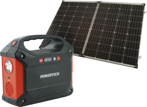 Power Hub and Solar Panel