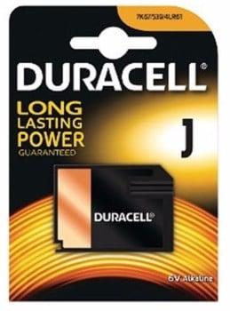 Duracell 7K67B Alkaline 6V J Battery