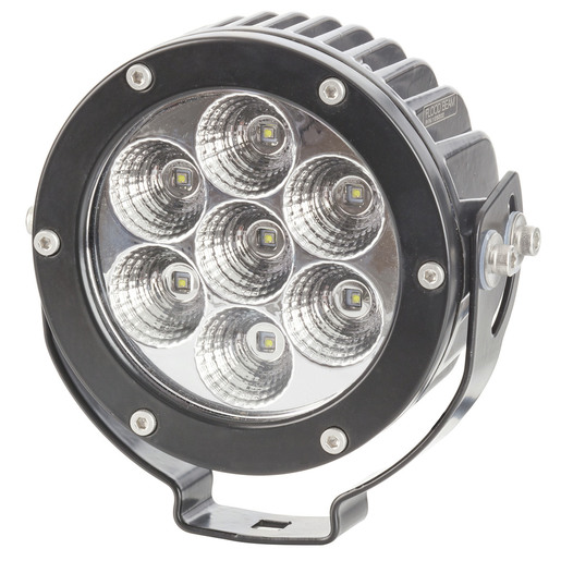 Photo of a 3486 lumen IP68 rating solid LED vehicle flood light.
