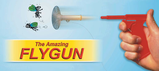 Photo of The Amazing Fly Gun.