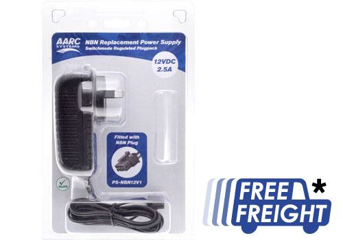 NBN Replacement Power Supply 12VDC 2 5A