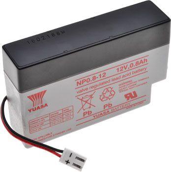 12V 0.8Ah Yuasa SLA Battery NPO.8-12