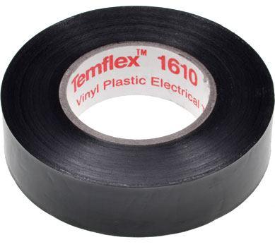 3m temflex pvc electrical insulation tape black