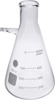 500ml Filtering Flask Glass Borosilicate