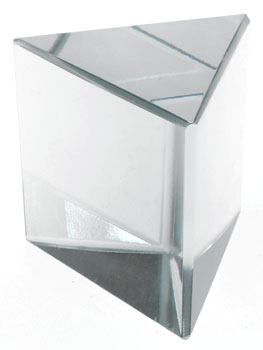 Equilateral Triangle Glass Prism 38mm
