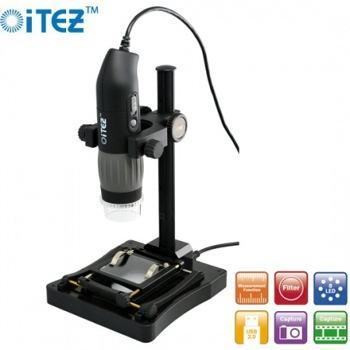 eScope Microscope and Microscope Stand