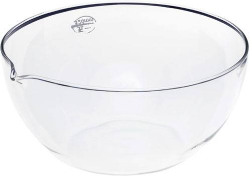 Evaporating Dish Glass 120mm Flat Bottom with Spout