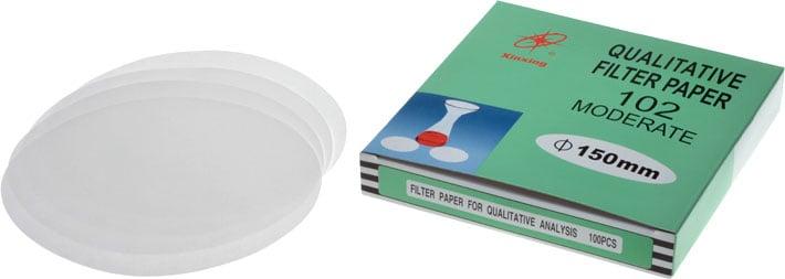Qualitative Filter Paper 102 Moderate 150mm
