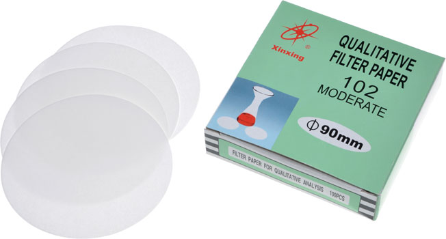 Qualitative Filter Paper 102 Moderate 90mm