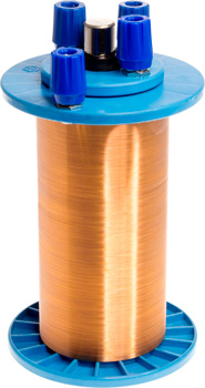 Photo of an IEC mutual induction coil.