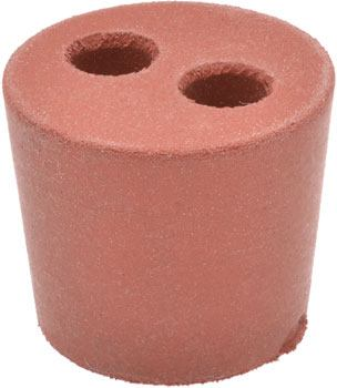 Rubber Stopper With Two Holes M180 2