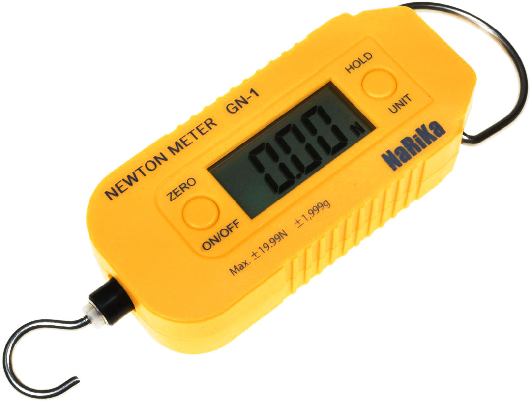 Photo of a NaRiKa newton meter.