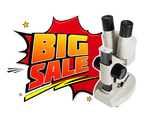 Microscope Stereo Binocular - Big Sale Splash