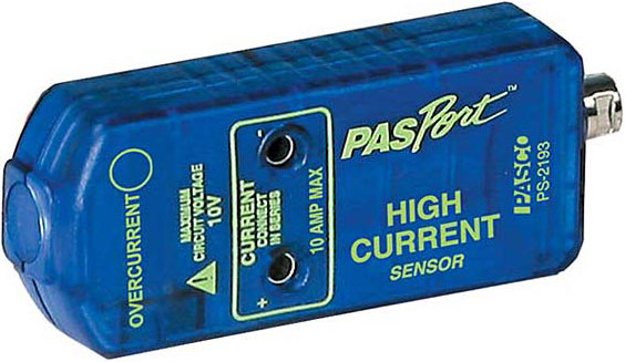 PASPort High Current Sensor. PASCO PS-2193.