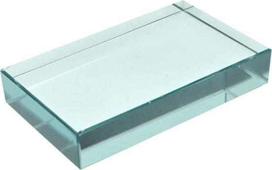 Charmant Rectangular Glass Slabs 100mm
