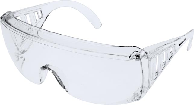 Photo of a pair of Prosafe Yukon economy safety glasses.