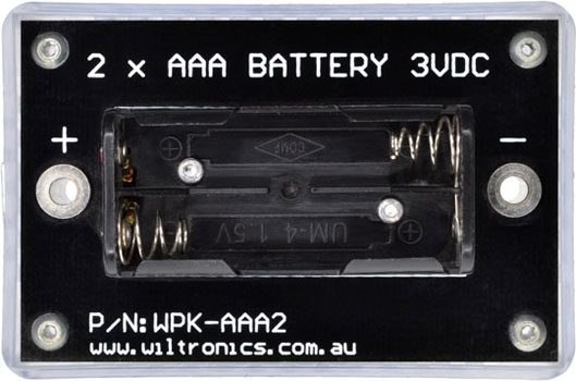 WPK Circuit Brick 2 x AAA Batteries 3VDC