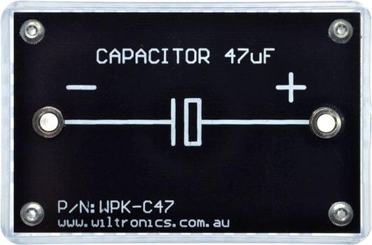 Capacitor 47µF. P/N: WPK-C47. www.wiltronics.com.au
